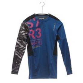 リーボック REEBOK スポーツインナー ワンシリーズ LW Comp グラフィックロングスリーブTシャツA BQ442