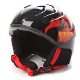 スワンズ SWANS ジュニア スキー/スノーボード ヘルメット H-41 BK/R H-41 187