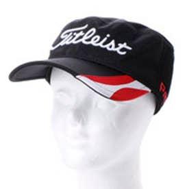 タイトリスト Titleist ゴルフキャップ ツアーワークキャップ 5CTW BK HJ5CTW-BK ブラック (ブラック)