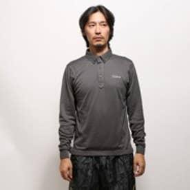 タイトリスト Titleist ゴルフシャツ ギンガムチェック長袖ボタンダウンシャツ TWMC1524BK-M (ブラック)