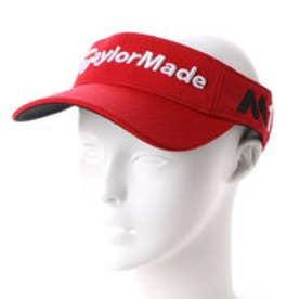 テーラーメイド TaylorMade メンズ ゴルフ サンバイザー 1908366416 (レッド)