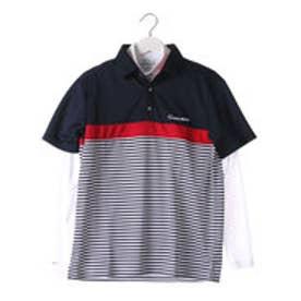 テーラーメイド TaylorMade メンズ ゴルフ セットシャツ S/S カラーブロックレイヤードシャツ CCK82