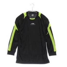ティゴラ Tigora ジュニアサッカーゴールキーパーシャツ TR-8SW4705 JGK ブラック