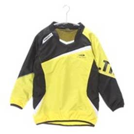 ティゴラ TIGORA ジュニアサッカーピステジャケット TR-8SW4645WJヒート イエロー (イエロー×ブラック)