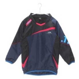 ティゴラ TIGORA ジュニアサッカーピステジャケット TR-8SW4645WJヒート ネイビー (ネイビー×ブラック)