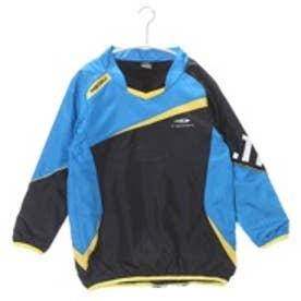 ティゴラ TIGORA ジュニアサッカーピステジャケット TR-8SW4645WJヒート ブラック (ブラック×ブルー)