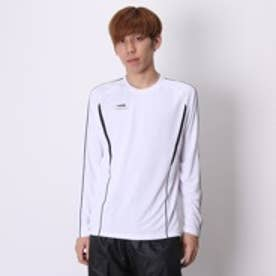 ティゴラ TIGORA 長袖Tシャツ TR-9A1605TL ホワイト (ホワイトBK)