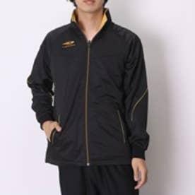 ティゴラ TIGORA 野球長袖ウィンドシャツ  TR-8BW1775WJキモ   (ブラック×ゴールド)