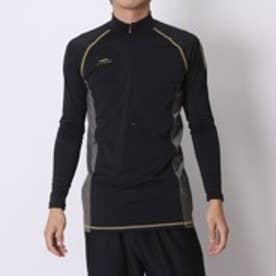 ティゴラ TIGORA 野球アンダーシャツ  TR-8BW1745UT BK ブラック (ブラック×ゴールド)