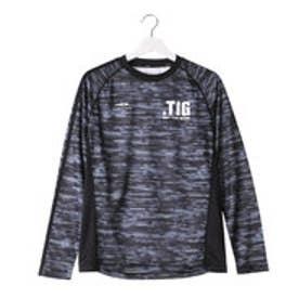 ティゴラ TIGORA メンズ テニス 長袖Tシャツ TR-2TW1856TL