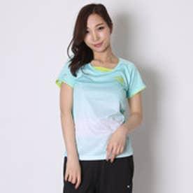 ティゴラ TIGORA テニスシャツ  TR-2TW2516TS グリーン (エメラルドグリン)