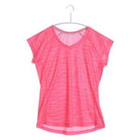 ティゴラ TIGORA ランニングTシャツ  TR-3R2216TS (コーラル)