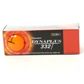 トブンダ Tobunda ゴルフボール 1スリーブ(3個入)DYNAPLUS ダイナプラス 332 フラッシュオレンジ