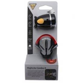トピーク TOPEAK ライト、リフレクター ヘッド ランプ、 TPK ハイライト コンボ II BK 10 LPF0930000000 ブラック (ブラック)