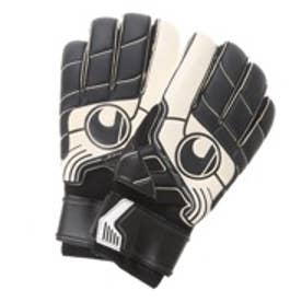 ウールスシュポルト uhlsport サッカーキーパーグローブ プロコンフォート テキスタイル スーパーソフト 1000131 (ブラック×ホワイト)