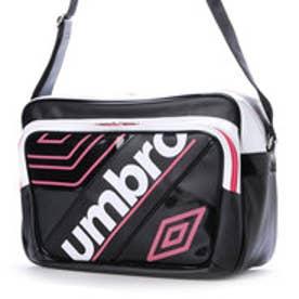 アンブロ UMBRO エナメルバッグ ラバスポシヨルダ- L UJS1614  878 (ブラック×ピンク)