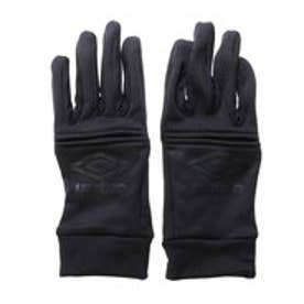 アンブロ UMBRO ジュニア サッカー/フットサル 手袋 フィールドプレイヤーグローブ UJA8602 (ブラック×ブラック)