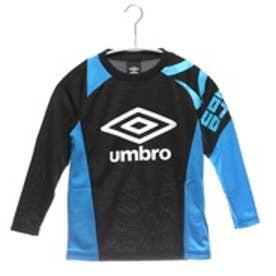 アンブロ UMBRO ジュニアサッカー長袖シャツ  UBA7545JL ブラック 8305 (ブラック)