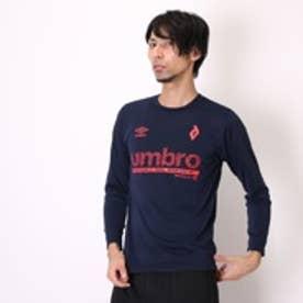 アンブロ UMBRO Tシャツ MVSグラフィックL/Sシャツ UCA5589SD  ネイビー