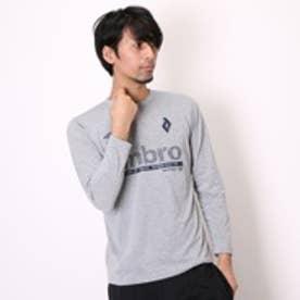アンブロ UMBRO Tシャツ MVSグラフィックL/Sシャツ UCA5589SD  グレー