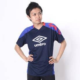 アンブロ UMBRO サッカープラクティスシャツ COMBO プラクティス シャツ UBS7631 ネイビー  (ネイビー×ブルー×レッド)