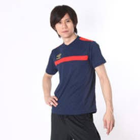 アンブロ UMBRO サッカープラクティスシャツ GACH1 プラクティスシャツ UBS7627 ネイビー  (ネイビー×レッド)