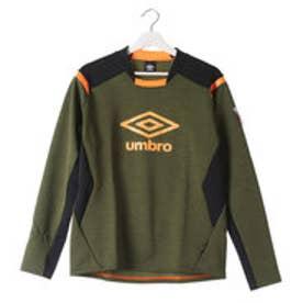 アンブロ UMBRO メンズ サッカー/フットサル ピステシャツ GACH1 MOKU-TR トツプ UBA2637 (Eグリーン)