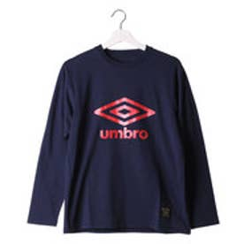 アンブロ UMBRO メンズ 長袖Tシャツ コンフォートビッグロゴL/Sシャツ UCA5653