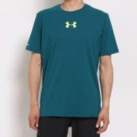 アンダーアーマーUnderArmourTシャツチャージドコットンHGSSGPバーティカルロゴ8279グリーン
