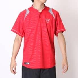アンダーアーマー UNDER ARMOUR 野球Tシャツ UAスタンドカラーベースポールシャツIII #MBB1521 (レッド)