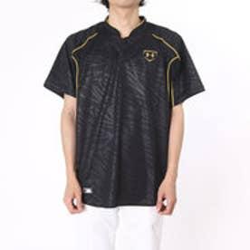 アンダーアーマー UNDER ARMOUR 野球Tシャツ UAスタンドカラーベースボールシャツ- #MBB2176 (ブラック)