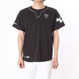 アンダーアーマー UNDER ARMOUR 野球Tシャツ UA COLDBLACKベースボールシャツ? #MBB2175 (ブラック)