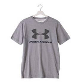 アンダーアーマー UNDER ARMOUR Tシャツ  UA 8281CC Bロゴ   (グレー)