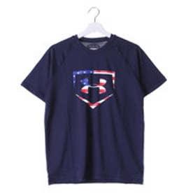 アンダーアーマー UNDER ARMOUR メンズ 野球 半袖Tシャツ UA FLAG LOGO SS #MBB3588
