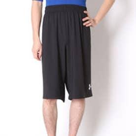 アンダーアーマー UNDER ARMOUR バスケットボールプラクティスパンツ UAマストハブショーツ- #MBK3741  (ブラック)