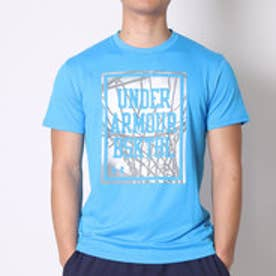 アンダーアーマー UNDER ARMOUR バスケットボールTシャツ UAロックインSS #MBK3100  (エレクトリックブルー)