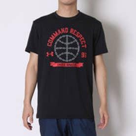 アンダーアーマー UNDER ARMOUR バスケットボールTシャツ UAコマンドリスペクトSSシャツ #MBK2250  (ブラック)