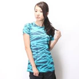 アンダーアーマー UNDER ARMOUR Tシャツ テックSS #WTR8383 ブルー (ピーコックブルーD/GY)