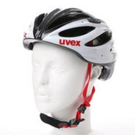 ウベックス UVEX アダルトヘルメット boss race 4102290817  (ホワイト×ブラック)