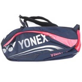 ヨネックス YONEX テニスラケットケース BAG1612R ラケットバッグ6(リュック付)〈テニス6本用〉 BAG1612R ネイビー×ピンク