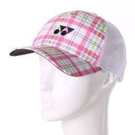 ヨネックス YONEX ユニセックス テニス キャップ メッシュキャップ 41019Y (ピンク)