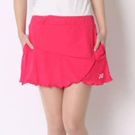 ヨネックス YONEX テニススコート スカート(インナースパッツ付) 26027 ピンク  (ブライトピンク)