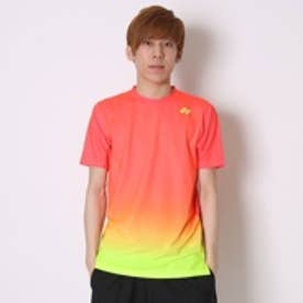 ヨネックス YONEX テニスTシャツ UNIシャツ スリムタイプ 12146 オレンジ  (フラッシュオレンジ)
