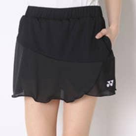 ヨネックス YONEX テニススコート スカート(インナースパッツ付) 26027 ブラック  (ブラック)