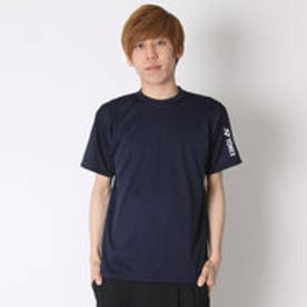 ヨネックス YONEX テニスTシャツ ドライTシャツ RWAP1601 ネイビー  (ネイビー×ホワイト)