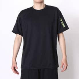 ヨネックス YONEX テニスTシャツ ドライTシャツ RWAP1601 ブラック  (ブラック×イエロー)