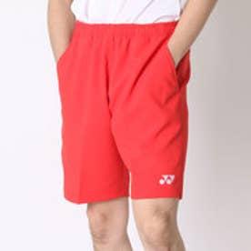 ヨネックス YONEX テニスパンツ ハーフパンツ(スリムフィット) 15048 レッド  (サンセットレッド)