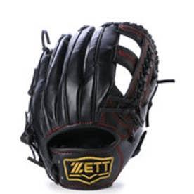 ゼット ZETT 軟式グローブ(右投げ) セレックス BRG16A02  (ブラック)