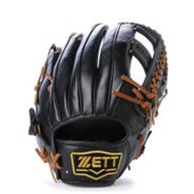 ゼット ZETT ソフトボールグローブ(右投げ) セレックス BSG16A05  (ブラックXオークブラウン)