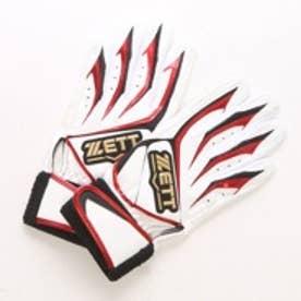 ゼット Zett ジュニアバッティンググローブ(両手) BG992BSJ ホワイト